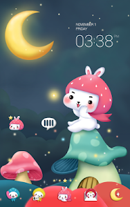 Togun(moon night)Dodol Theme screenshot 0