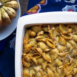 Pumpkin & Ricotta Pasta Casserole.