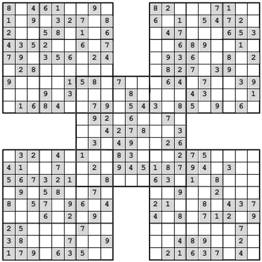 Samurai Sudoku Multiboard lite LOGO-APP點子
