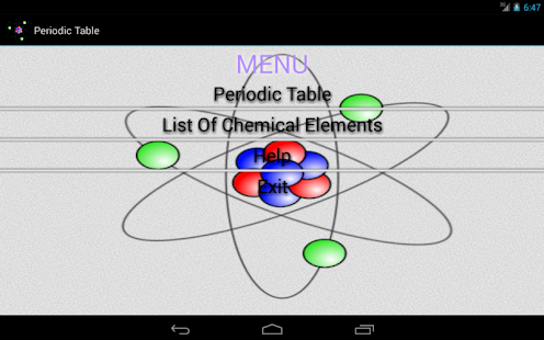 Periodic table android apps on google play periodic table screenshot thumbnail urtaz Images
