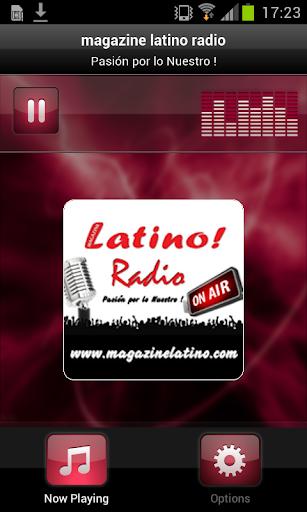 magazine latino radio