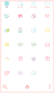 afternoon tea dodol theme - screenshot thumbnail