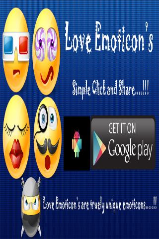 Love Emoticon's