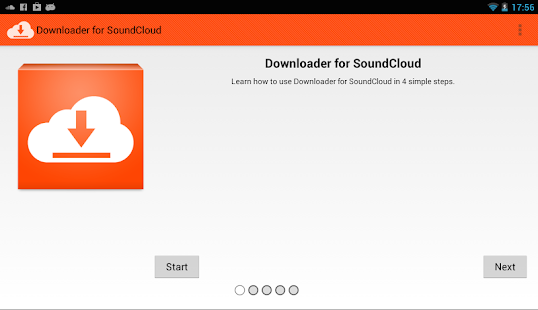Downloader for SoundCloud - screenshot thumbnail