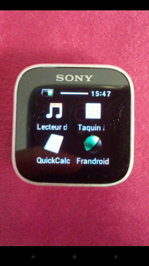 FrAndroid SmartWatch Notifier- screenshot