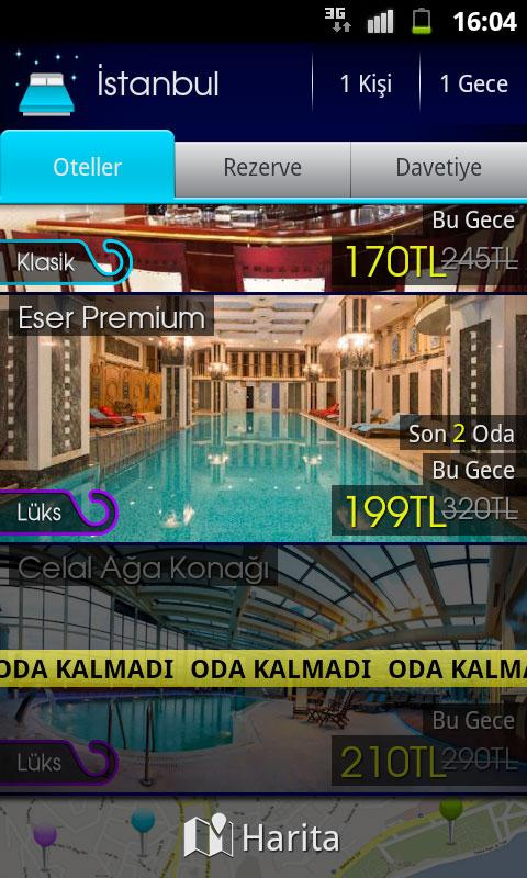 biodabulsam - lastminute hotel - screenshot