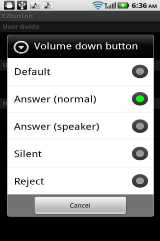EZbutton (answer by buttons) - screenshot