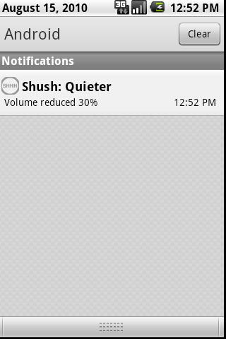 Shush - screenshot