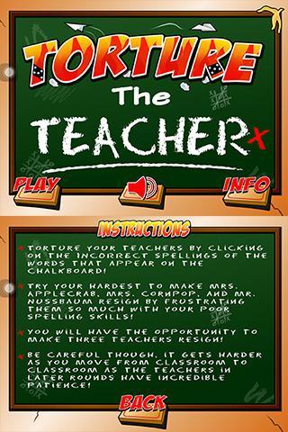 Torture the Teacher 2.0 - screenshot