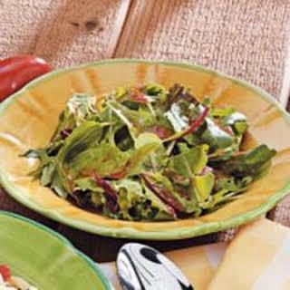 Balsamic Salad dressing.