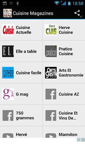 Cuisine Magazines