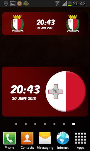 Malta Digital Clock