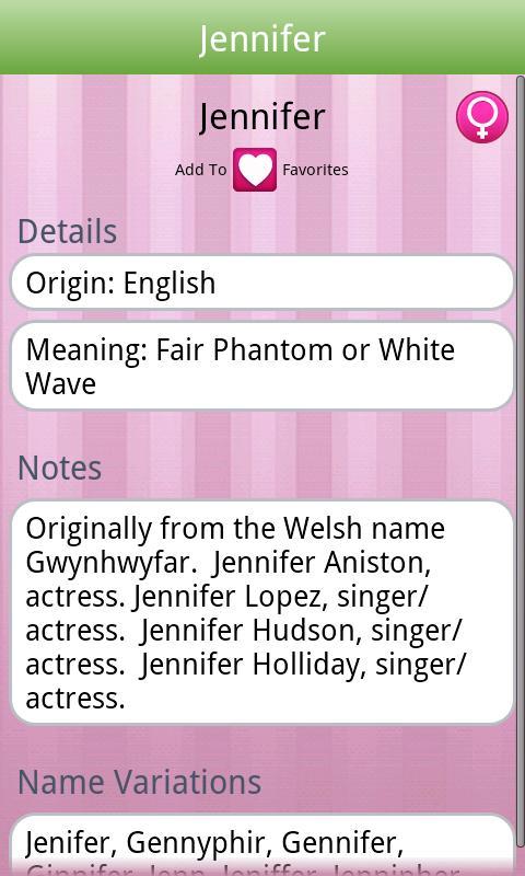 Baby Names! by BabyNames.com- screenshot