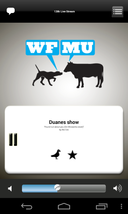 WFMU Radio (older) - screenshot