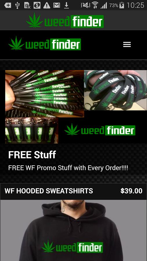 Weed Finder™ - screenshot