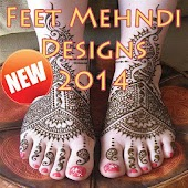 Feet Mehndi Designs 2014