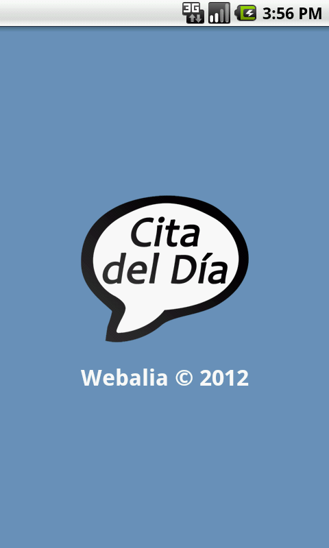 Cita del día- screenshot