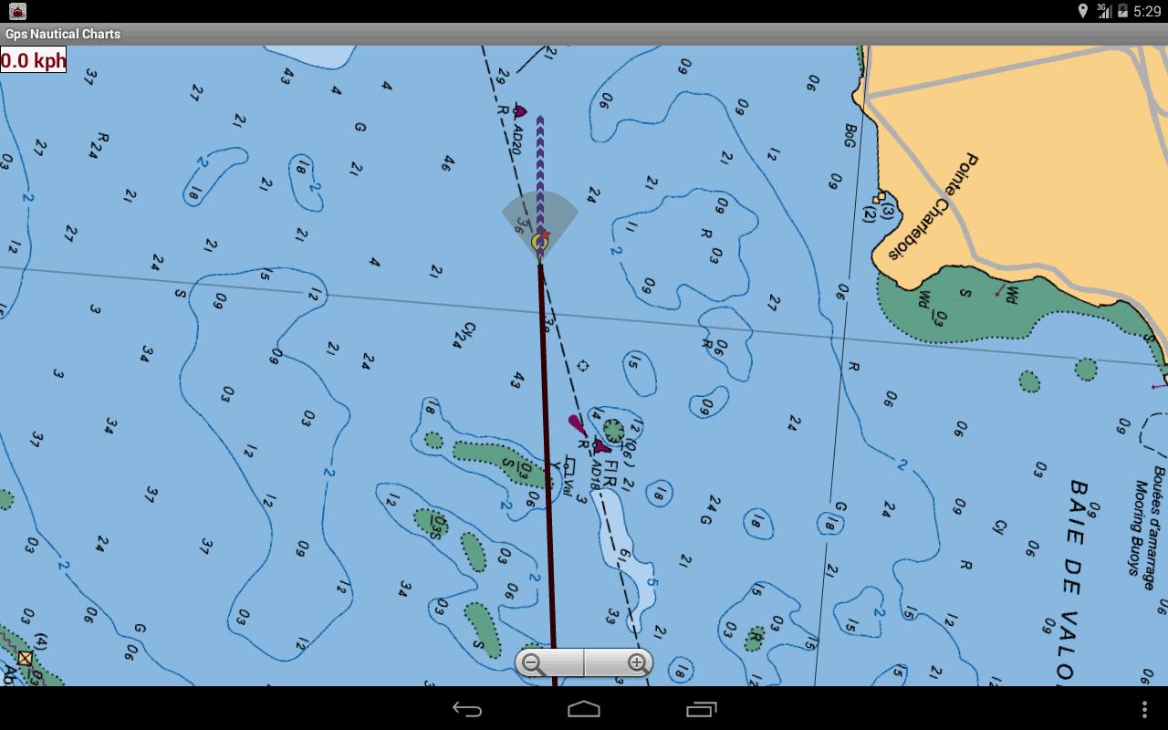 USA NOAA Marine Charts Lake Maps Google Play Store revenue