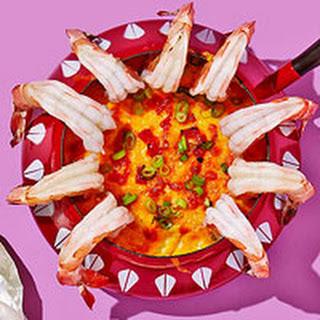 Shrimp & Grits Dip.