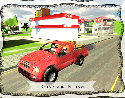 City Truck Delivery Simulator