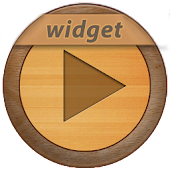 PowerAmp Wood Widget