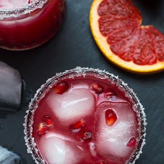 Pomegranate & Grapefruit Gin Cocktail.