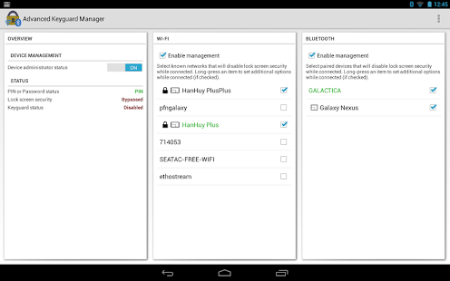 Advanced Keyguard Manager - screenshot thumbnail