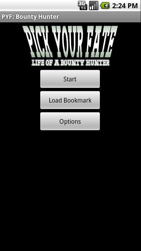 PYF: Bounty Hunter Demo- screenshot