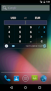 Currency Calculator Widget- screenshot thumbnail