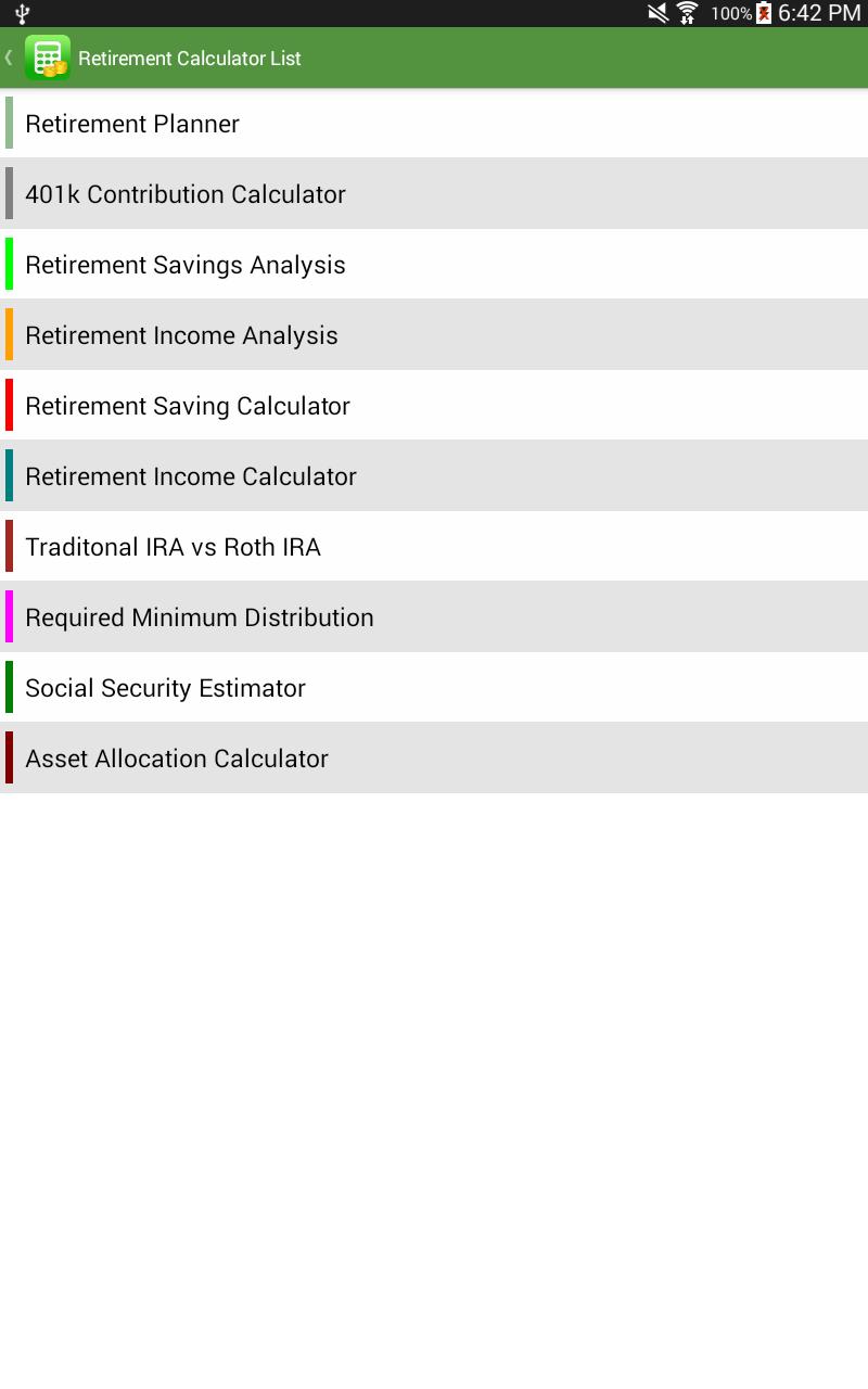 Financial Calculators screenshot #14