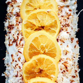 Orange Cake Recipe With Coconut Cream Cheese Frosting