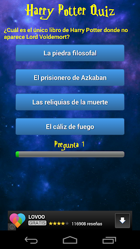 Harry Potter Quiz en español
