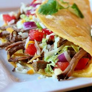 Green Chile Beef Tacos