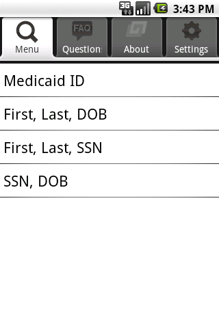 Medicaid Eligibility - screenshot