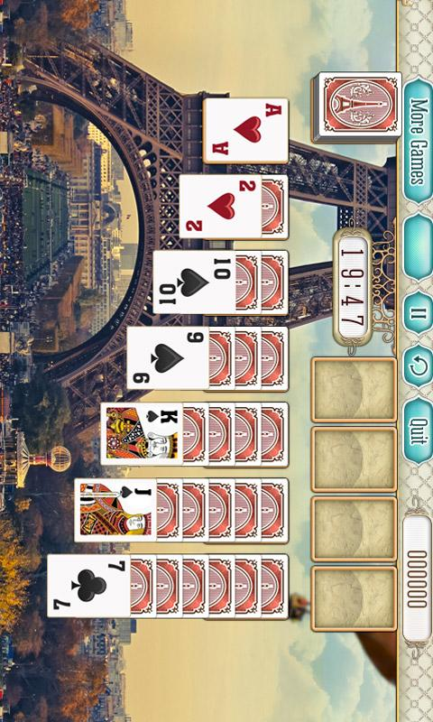 Paris Solitaire - screenshot