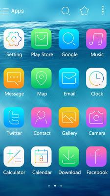 iSEA GO Theme Launcher - screenshot