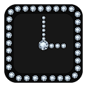 Diamond Clock Widget icon