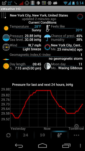 Weather, Alerts, Barometer v5.8.1 Apk Miki