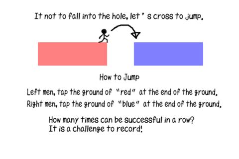 Hole Jump Man