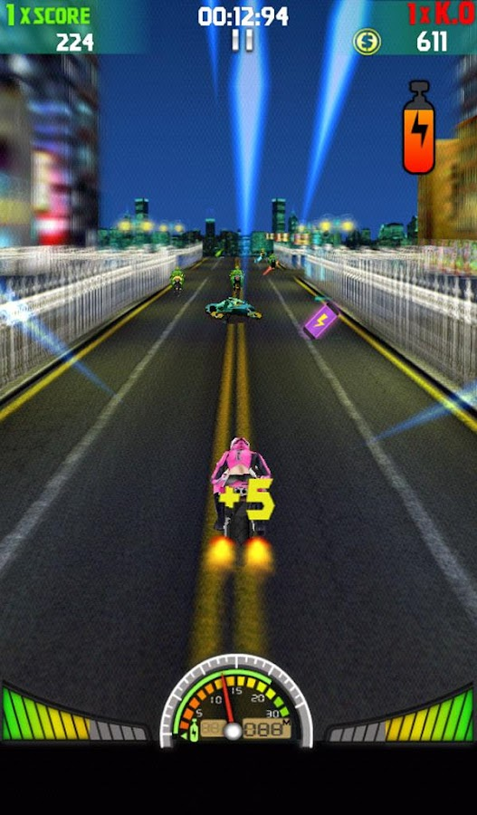 Death Speed:Moto 3D - screenshot
