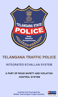 Telangana E-Challan Mobile App- screenshot thumbnail