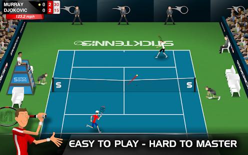 Stick Tennis - screenshot thumbnail