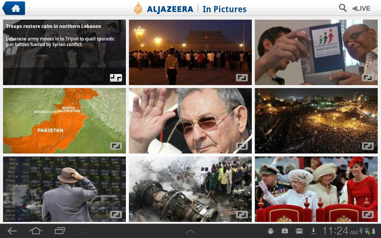 Al Jazeera English for Tablets - screenshot