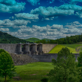 BURNSVILLE DAM by Kris Rowlands - Landscapes Mountains & Hills ( photography )