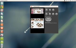 Screenshot of SNSD chibi images