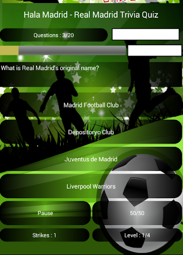 Hala - Real Madrid Trivia Quiz