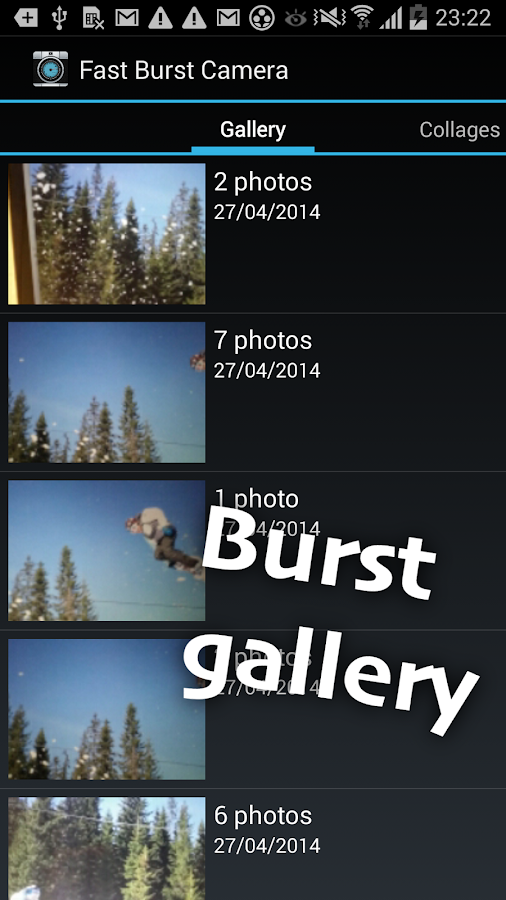 Fast Burst Camera Lite - screenshot