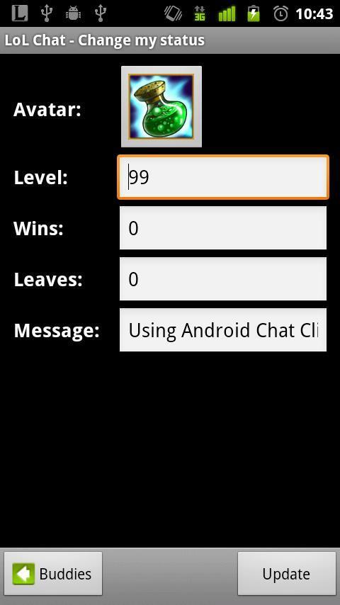 LoL Chat (Free) - screenshot