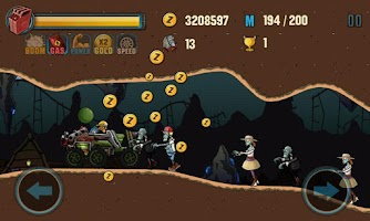 Screenshot of Zombie Road Racing