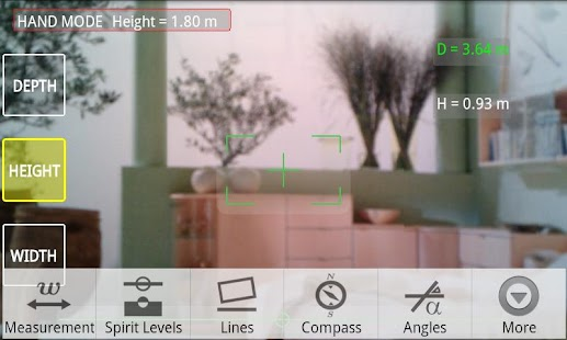 Telemeter - camera measure - screenshot thumbnail